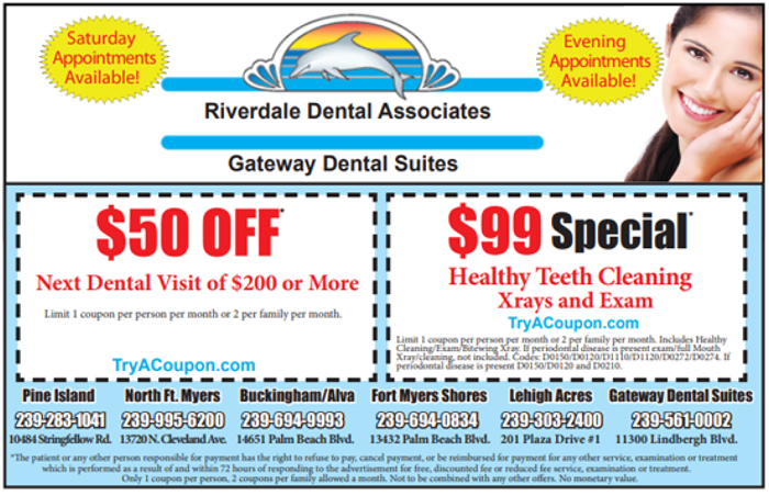 Riverdale Dental Coupon - Dentist Coupons - Home Coupon Book