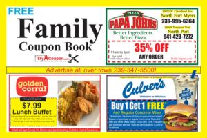Family Coupon Book