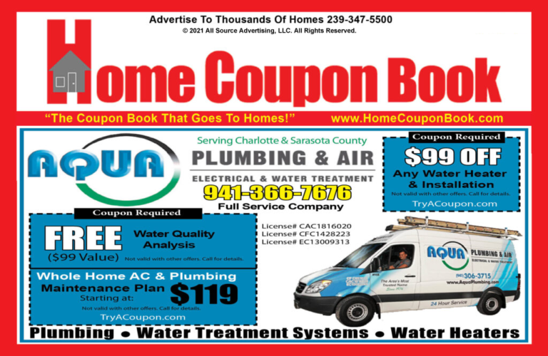 Home Coupon Book. Coupon Book that go to Homes